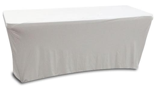 6' Banquet Table Slip Screen in Black or White [SPATBL6BLK/SPATBL6WHT]