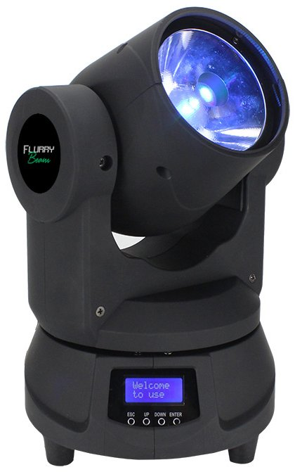 1x 60W RGBW Mini Moving Head Fixture