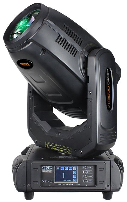 280W Discharge Lamp Beam/Spot/Wash Moving Head Fixture