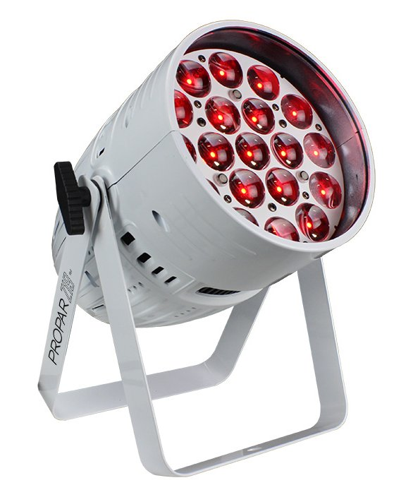 19x 15w RGBW LED PAR with 5°-60° Zoom