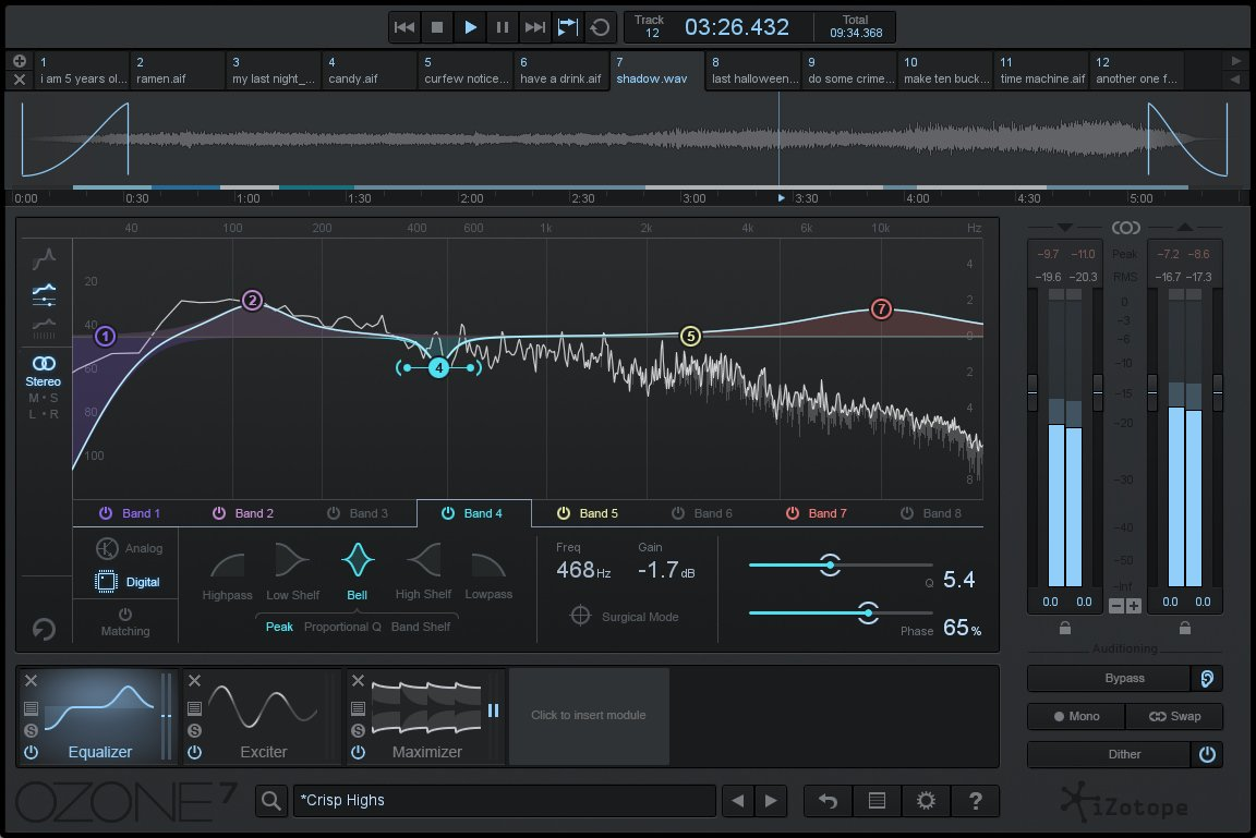 Complete Mastering System Software