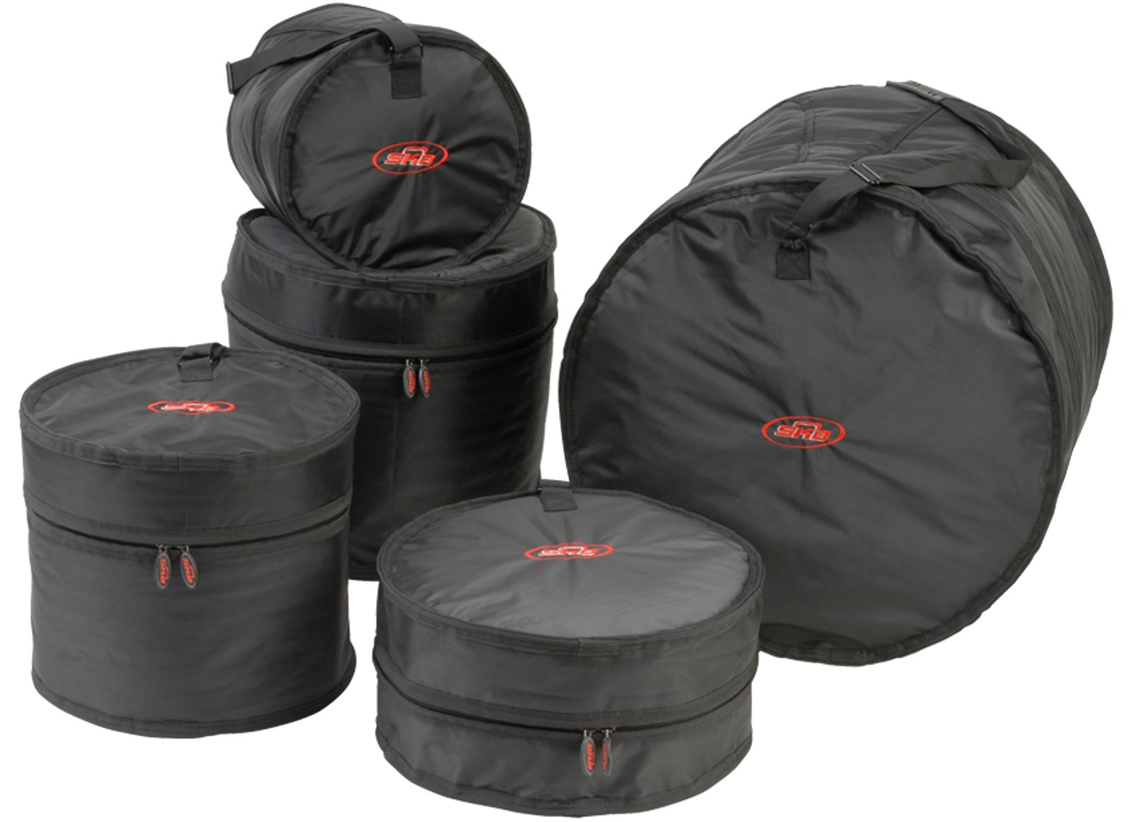skb cases 1skb dbs2 drum soft gig bag set 2 full compass. Black Bedroom Furniture Sets. Home Design Ideas
