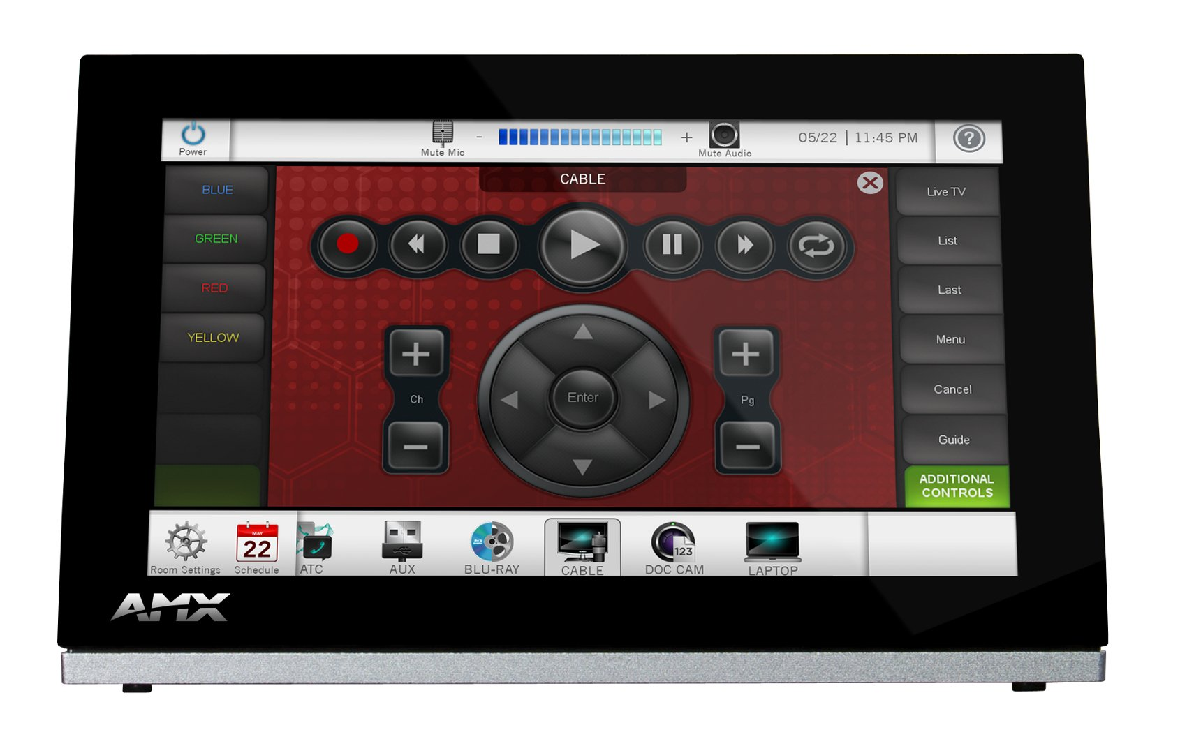 "7"" Modero S Series G4 Tabletop Touch Panel"