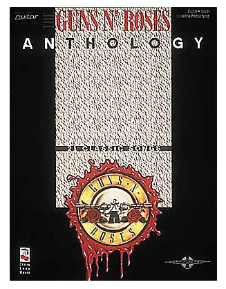Hal Leonard Guns N' Roses Anthology Guitar Tablature Book 02501242