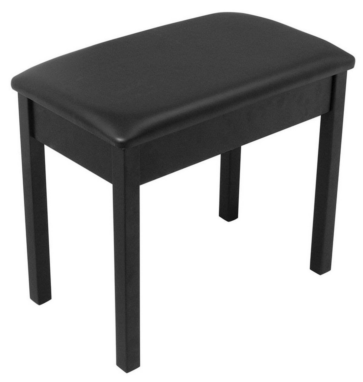 On-Stage Stands KB8802B Wooden Keyboard / Piano Bench (Black) KB8802B