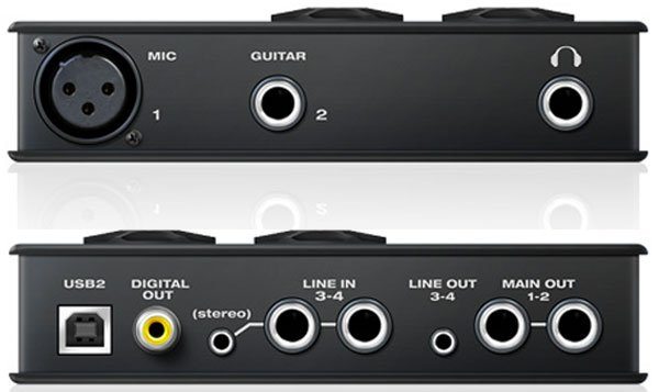 4x6 USB Audio Interface, Mac/Win/iOS