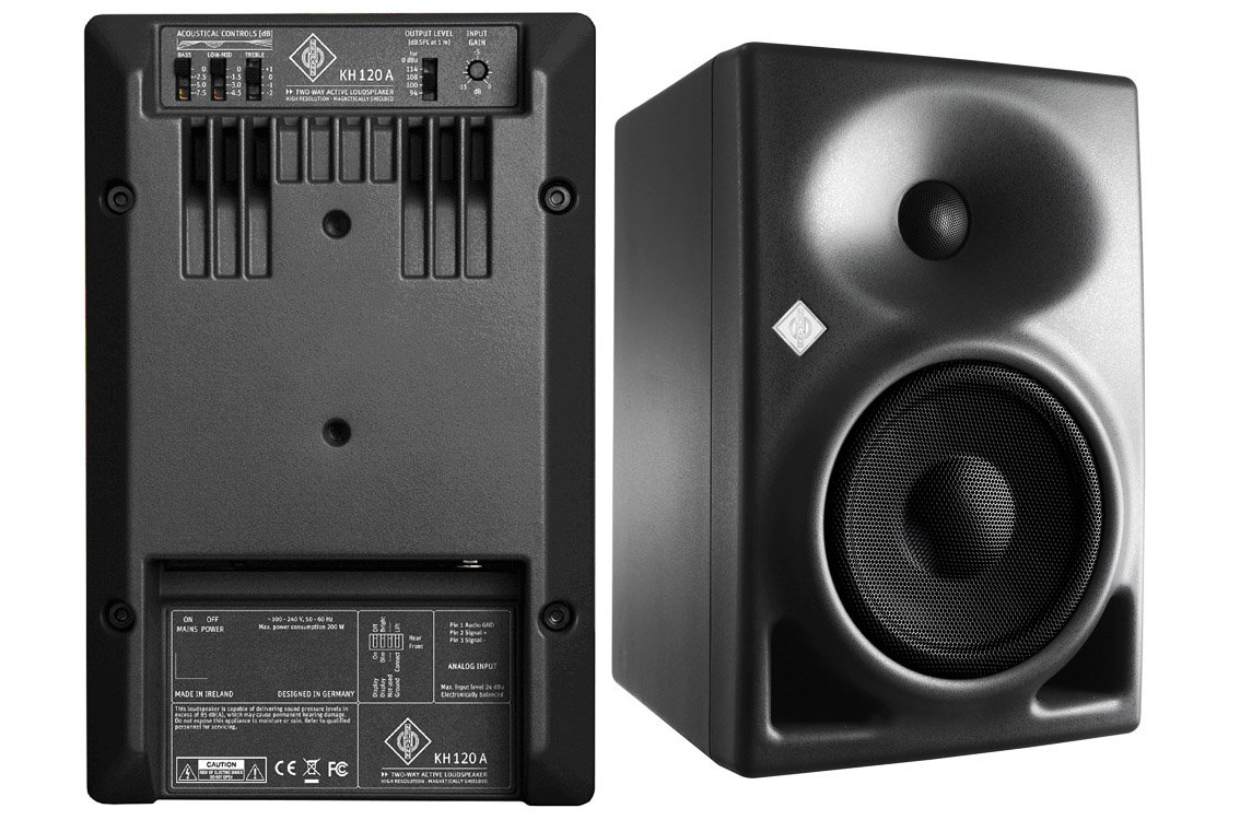 """Pair of 2-Way Active Near-field Reference Monitors w/ 10"""" Active Studio Subwoofer"""