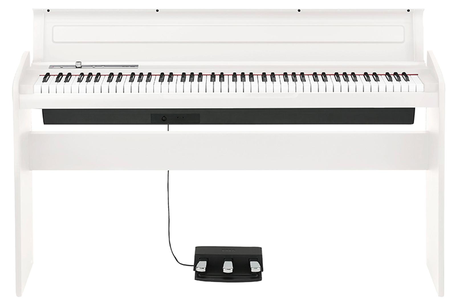 88 Key White Digital Piano