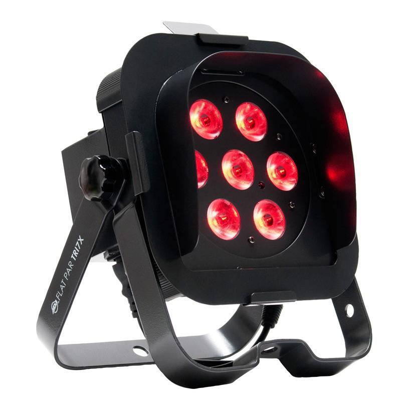 7x3W TRI LED Low Profile Par with DMX