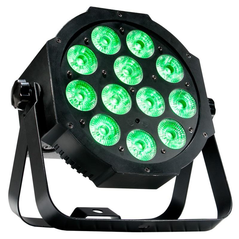 12x4W RGB+UV LED Par 64 Fixture