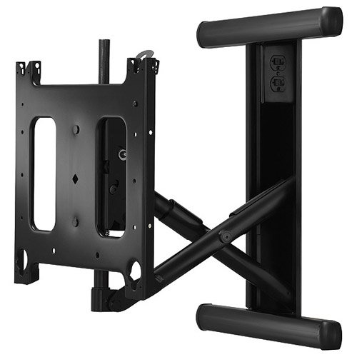 Large Low-Profile In-Wall Display Mount with Universal Bracket