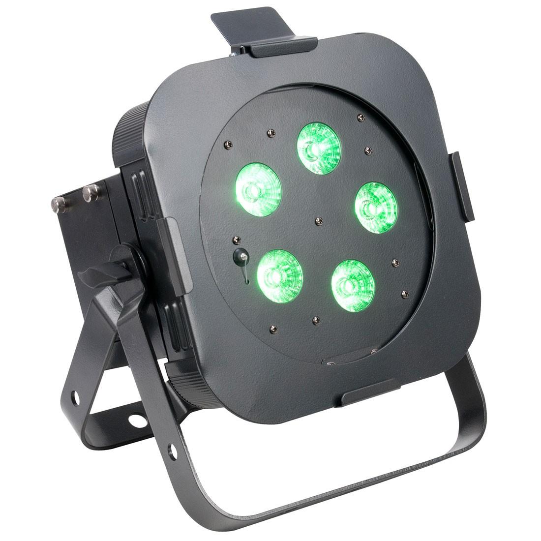 5x10W RGBWA+UV Compact Par Wash with Built-In WiFly EXR
