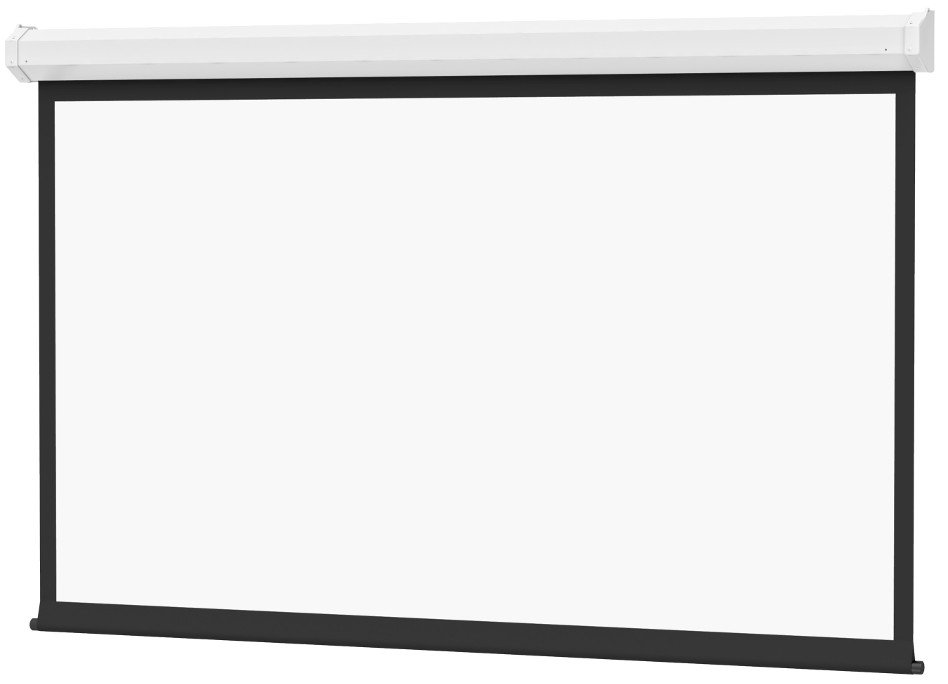 "65"" x 116"" Cosmopolitan Electrol Screen with High Contrast Matte White Surface"