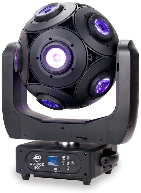 12x15W RGBW DMX Controlled Rotating Sphere Effect