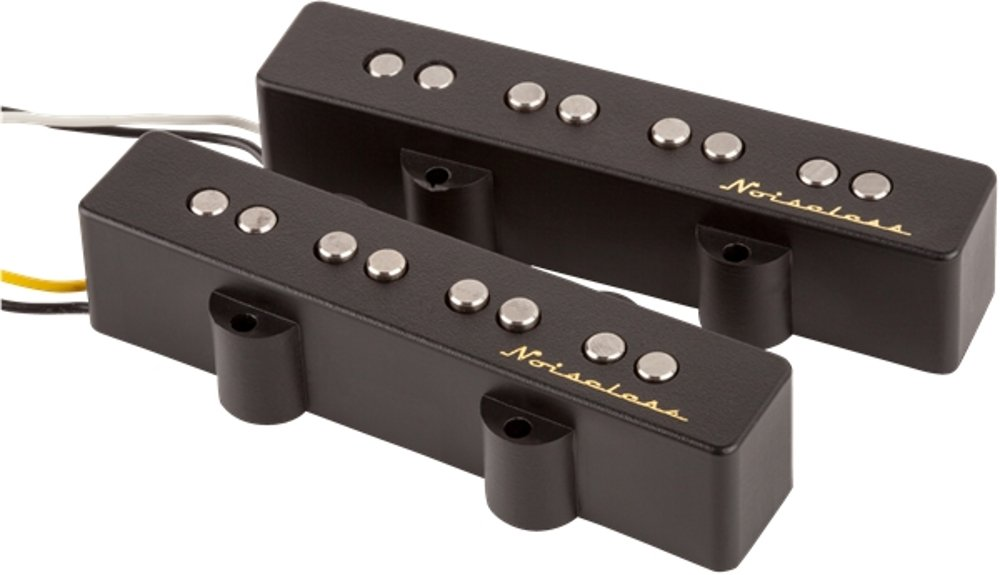 Set of Single-Coil Pickups for Jazz Bass