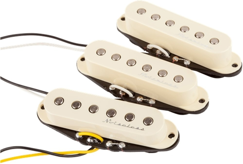 Set of Single-Coil Pickups for Stratocaster Electric Guitar