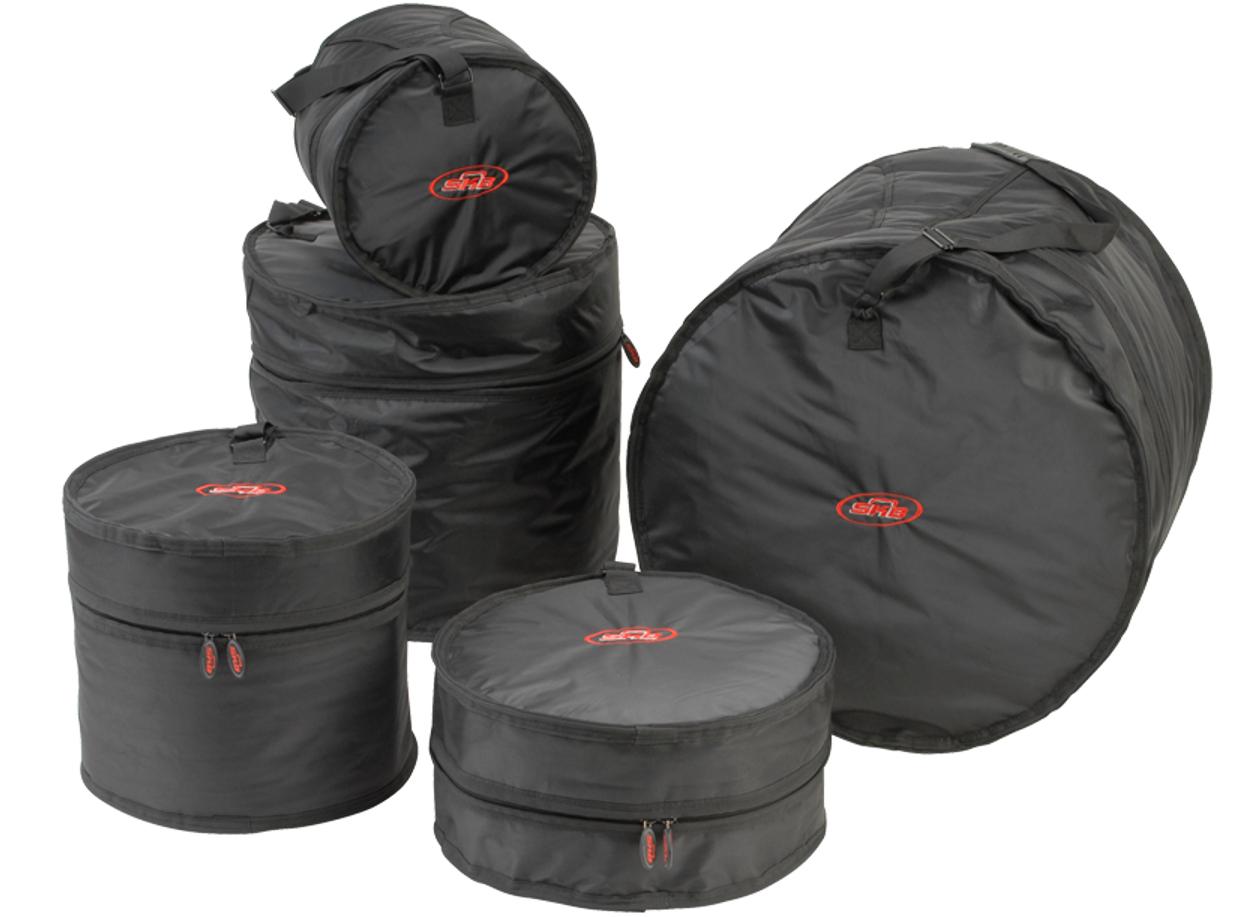 5 Piece Gig Bag Kit for Drums