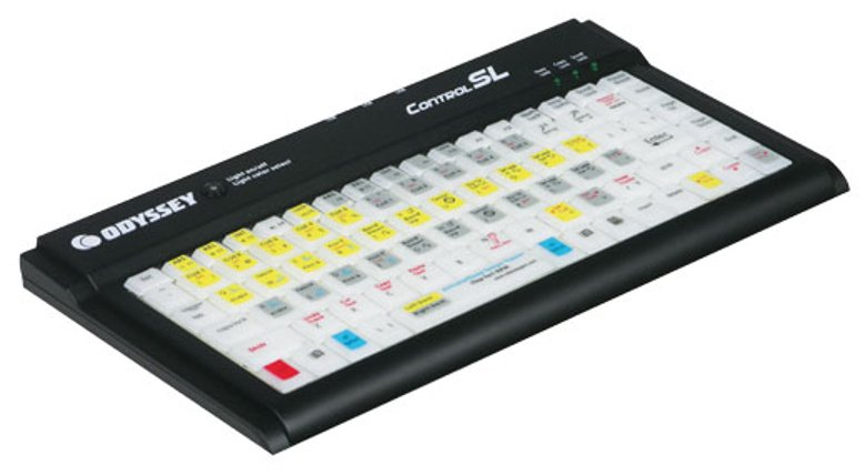 Compact Color Changing LED Backlit Keyboard