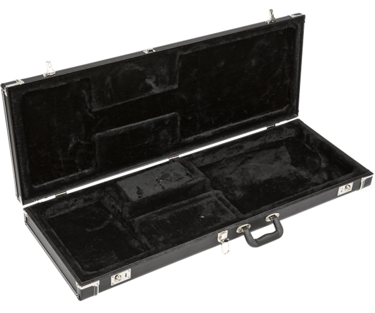 fender pro series guitar case black lightweight hardshell electric guitar case full compass. Black Bedroom Furniture Sets. Home Design Ideas