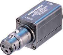 Adapter, Female XLR 110 ohm to Female BNC 75 ohm