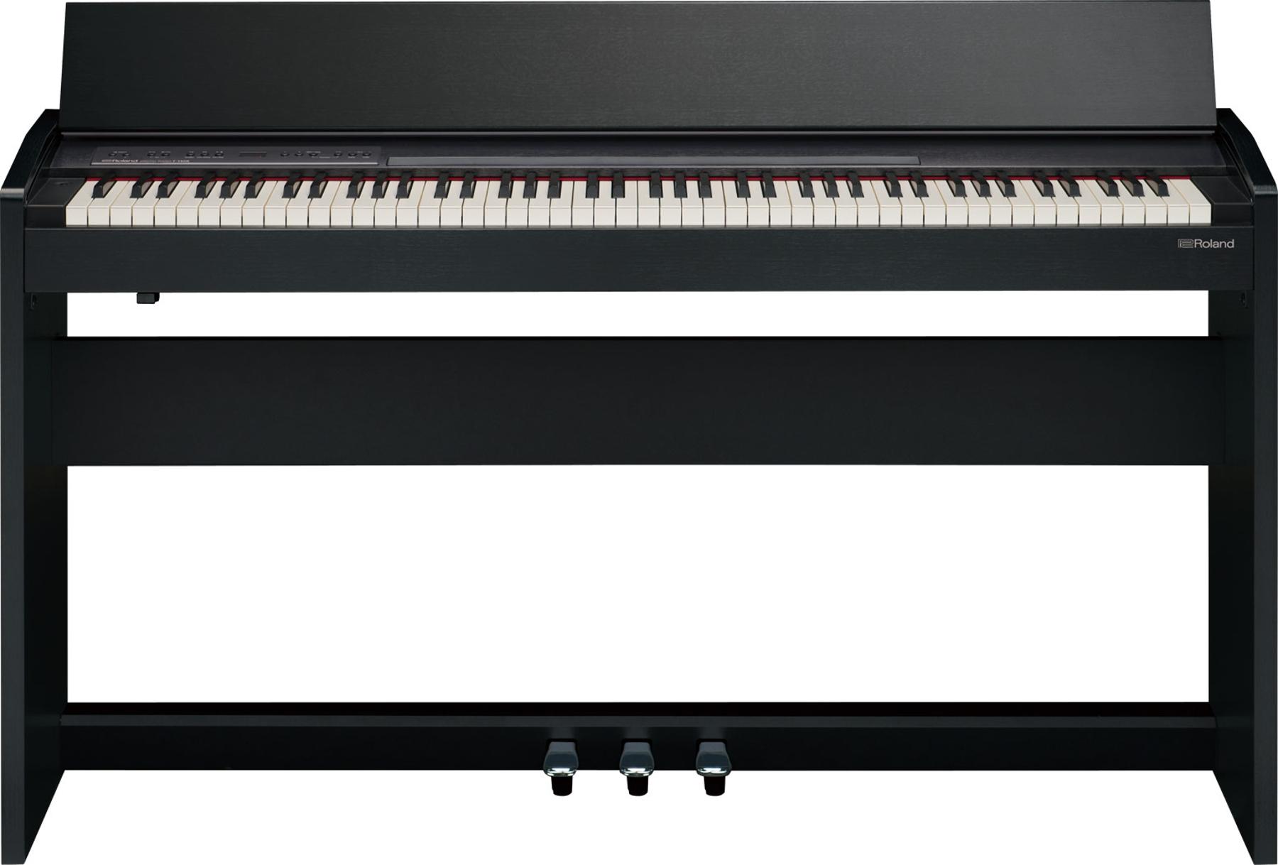 88 Key Compact Digital Piano in Black