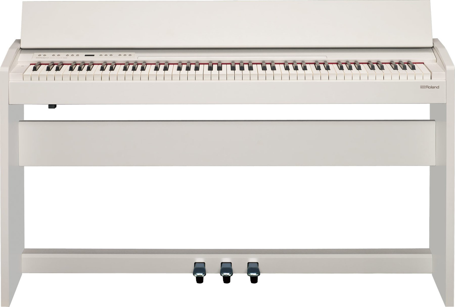 roland f140r wh 88 key compact digital piano full compass systems. Black Bedroom Furniture Sets. Home Design Ideas