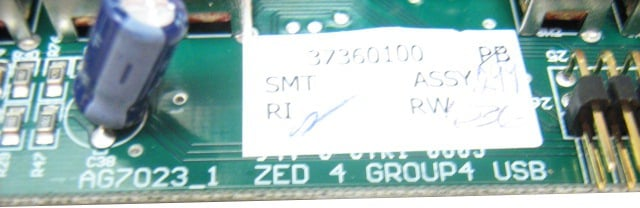 Group 4 PCB for Zed 4