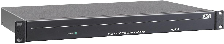 1x 4 RGBHV 5-BNC Video Dist Amp