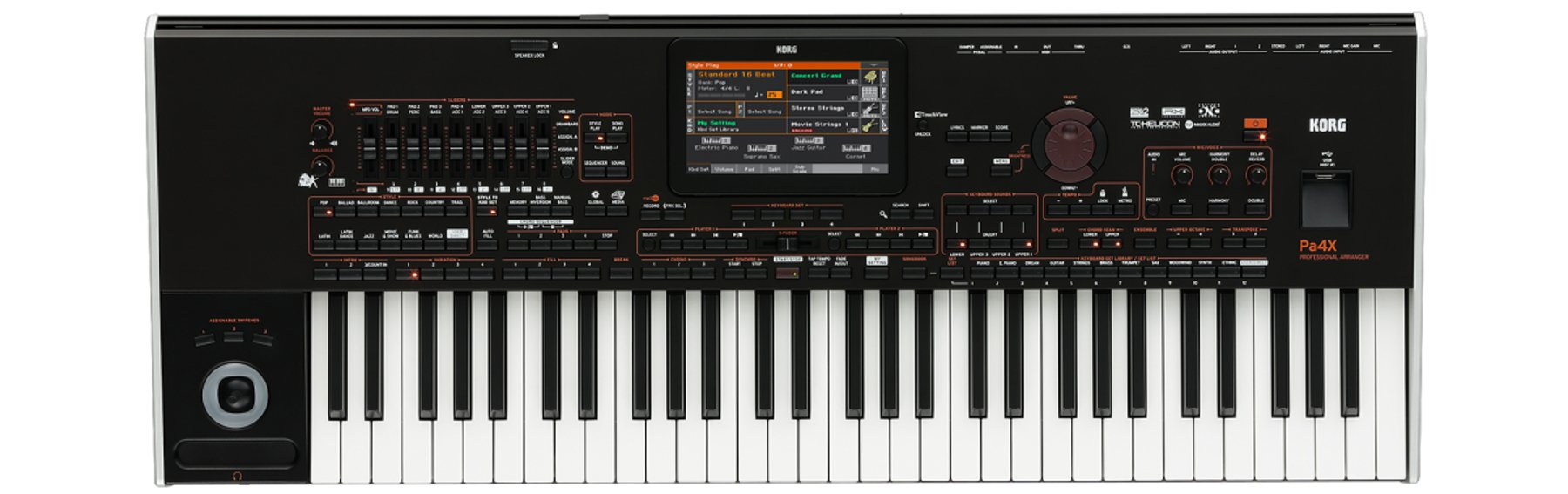 61-Key Professional Arranger Keyboard