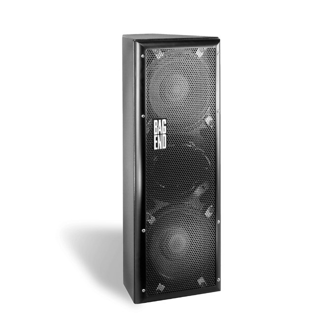 "12"" Powered Speaker, Black"