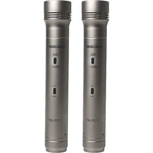 Stereo Pair of Pencil Condenser Microphones