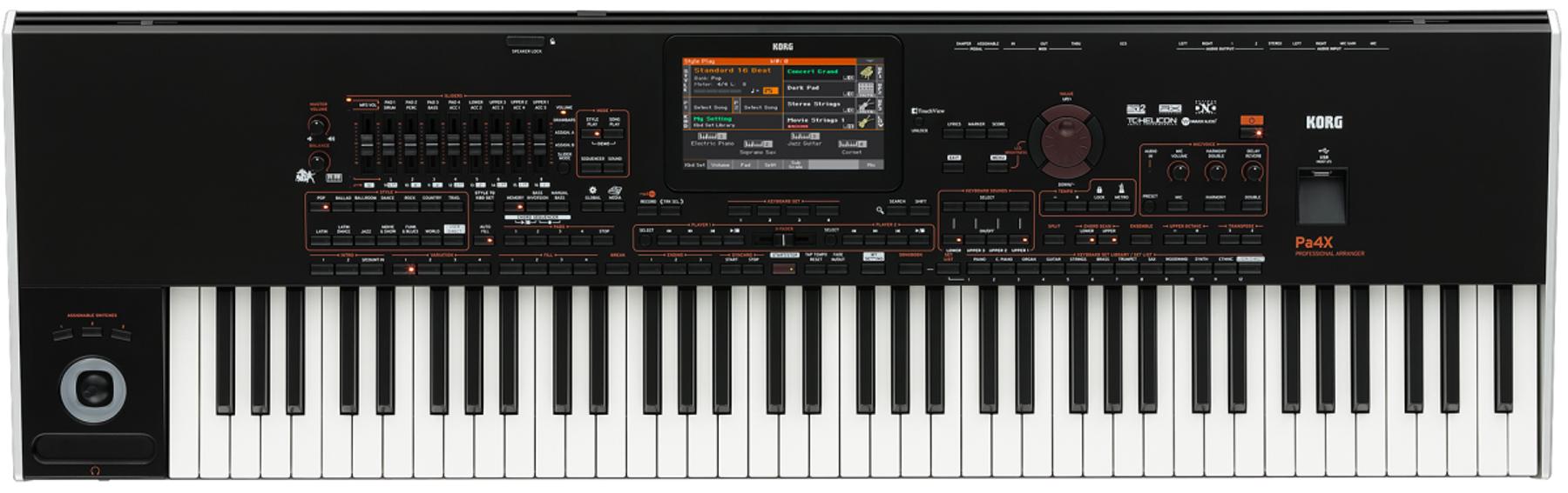 Korg Pa4X 76-Key Professional Arranger Keyboard PA4X76