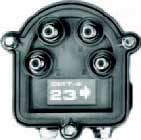 Outdoor Directional Tap, 4 Output 5-1000 MHz, Values: 23, 26, 29 dB