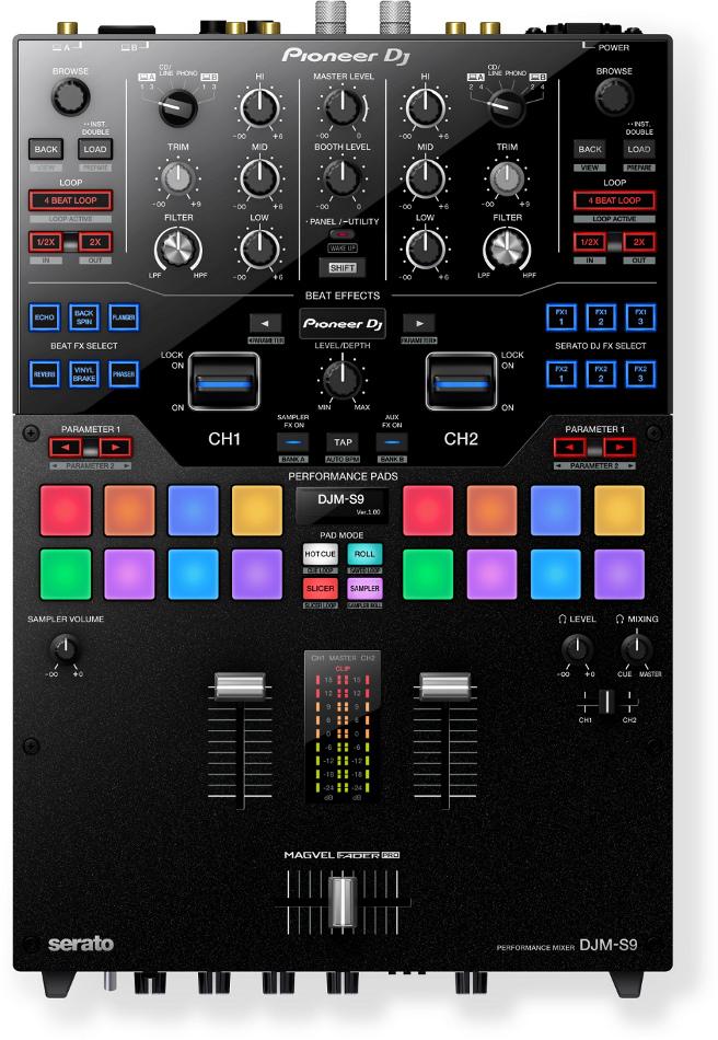 2-Channel Battle Mixer for Serato DJ