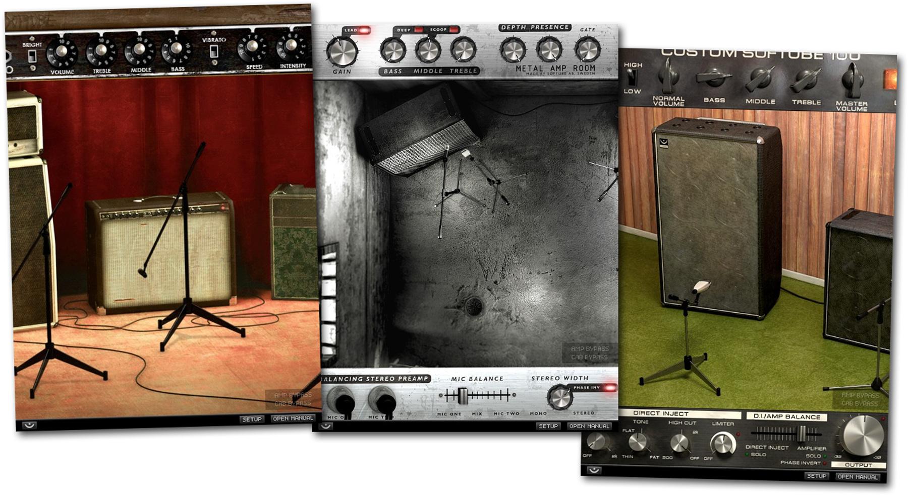 Guitar Amplifier Emulation Plugin Bundle