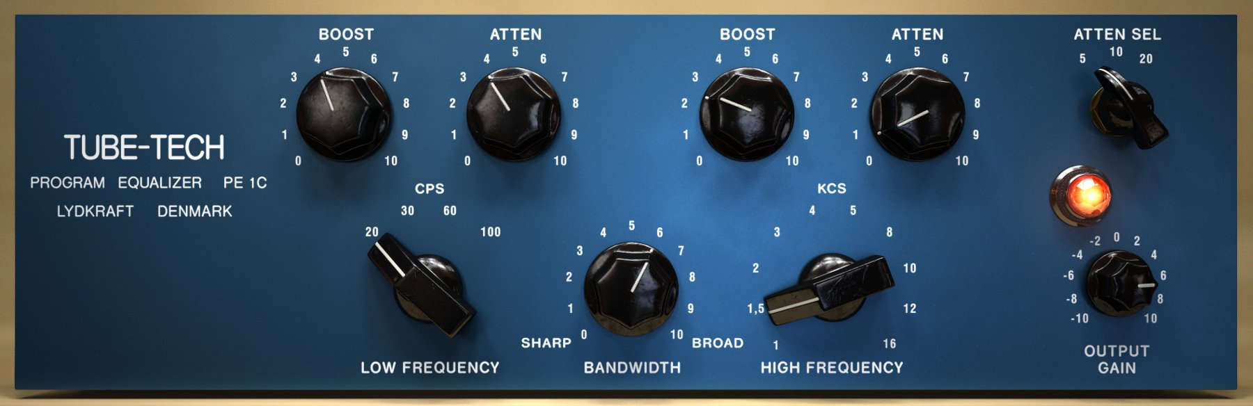 Equalizer Plugin Software, Virtual Version