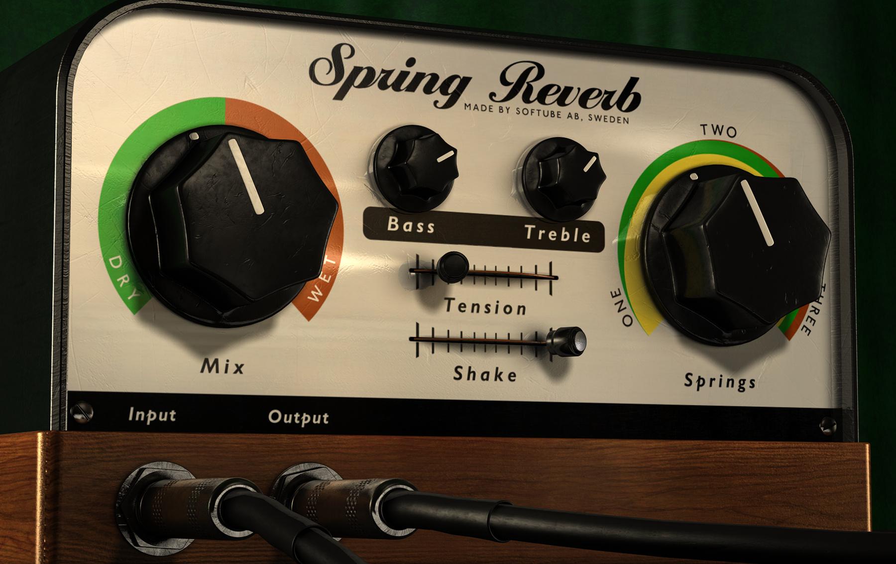 Vintage Spring Reverb Plugin