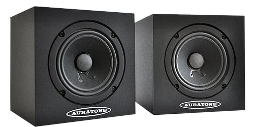"Pair of 4.5"" 25W Passive Studio Monitors"