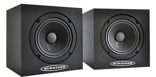 "Pair of 4.5"" 25W Passive Studio Monitors"