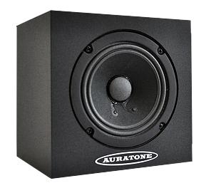 """Auratone 5C Super Sound Cube 4.5"""" 25W Passive Studio Monitor 5C-SINGLE"""