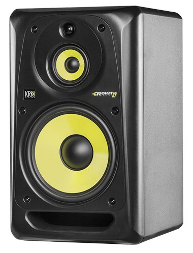 "3-Way, 10"" Active Mid-Field Studio Monitor in Black"