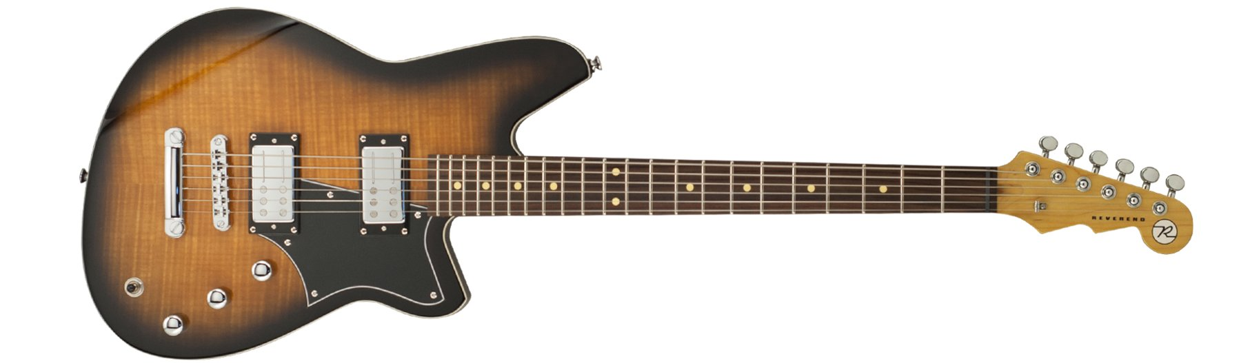 Coffee Burst Flame Maple Electric Guitar
