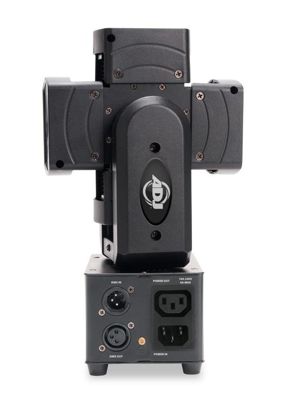4x10W RGBW Rotating Moving Head LED Fixture