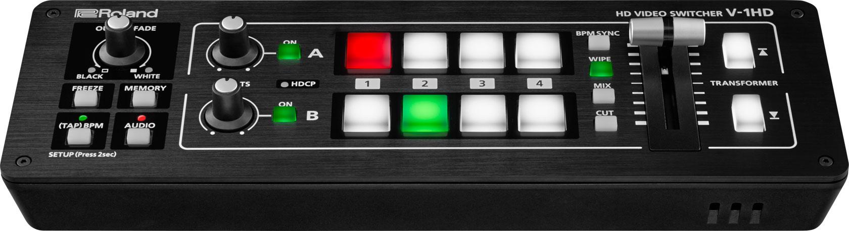 Compact 4 HDMI Input 1080p Video/Audio Switcher/Mixer