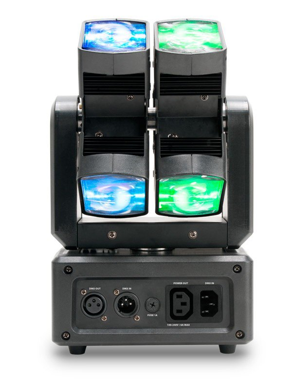 ADJ XS 600 6x10W RGBW Dual Moving Head LED Fixture XS600