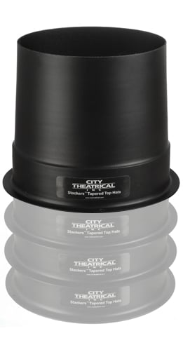 "Full 10"" Stackers Tapered Top Hat"