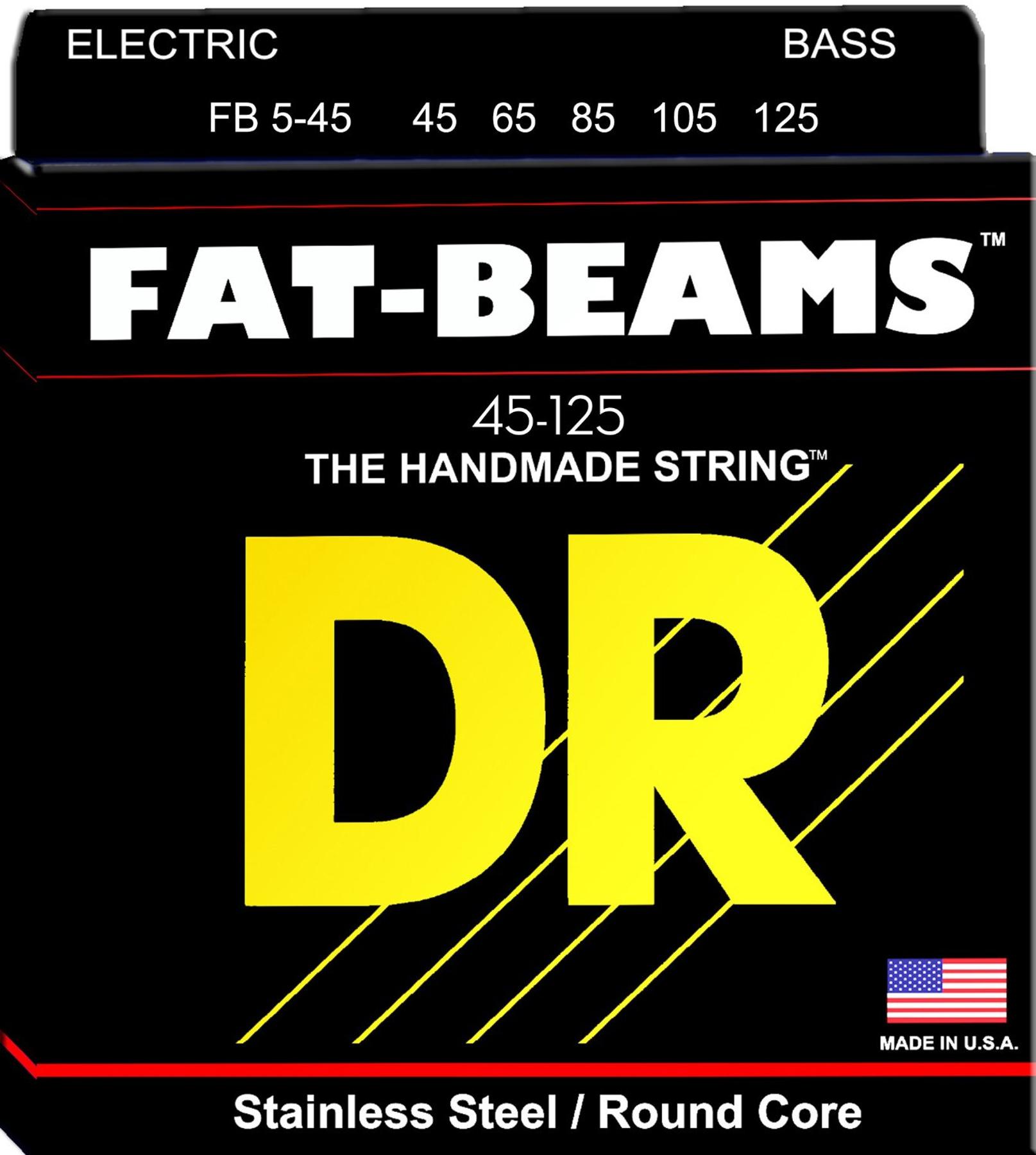 Fat-Beams Bass 5 Strings Medium 45-125