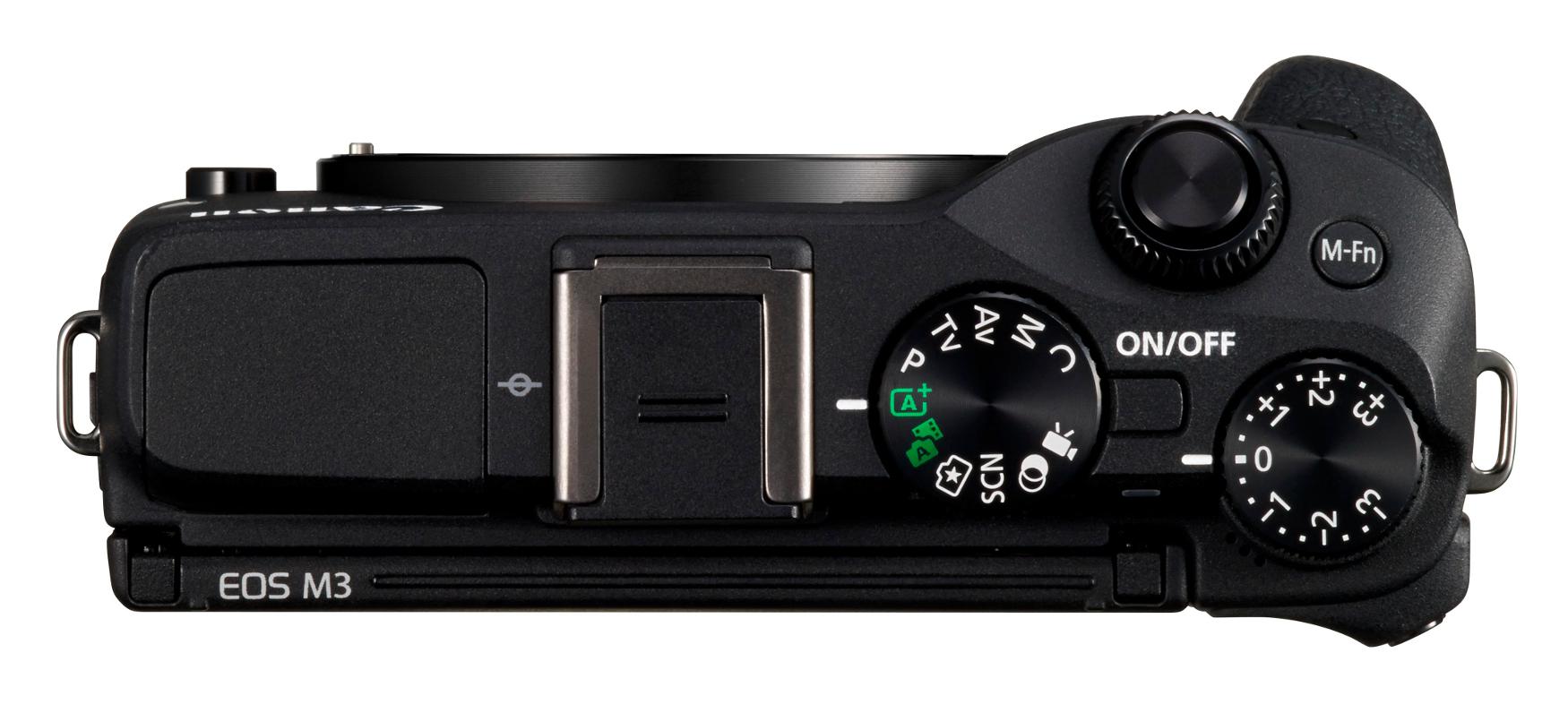 24.2MP EOS M3 DSLR Body Only in Black