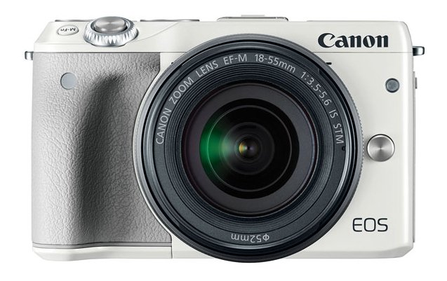 24.2 MP Cam with 18-55mm Lens in White Body