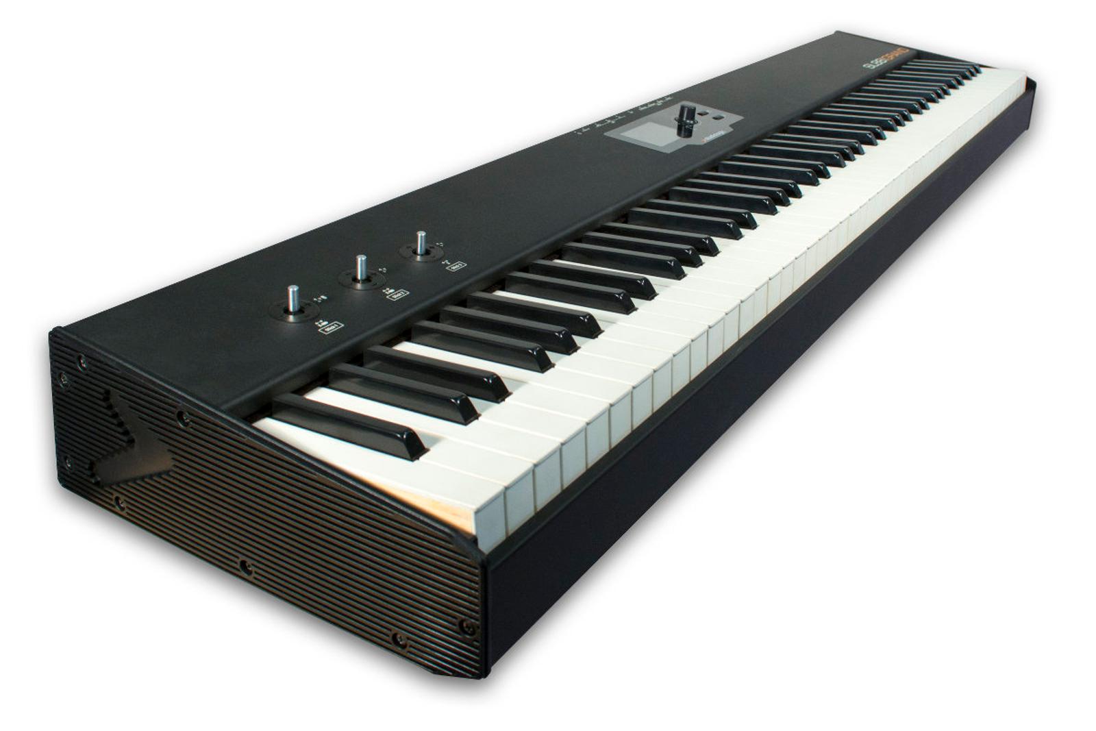 88 Wood Key Midi Controller